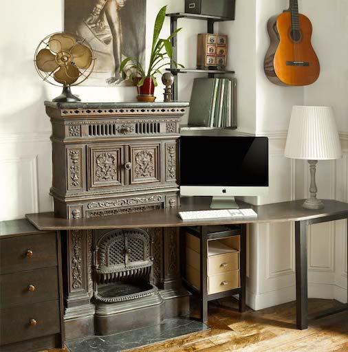 un bureau prussien espaces au singulier espaces au singulier. Black Bedroom Furniture Sets. Home Design Ideas