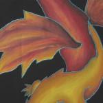 dragon feu - Julie Deljehier - espaces au singulier