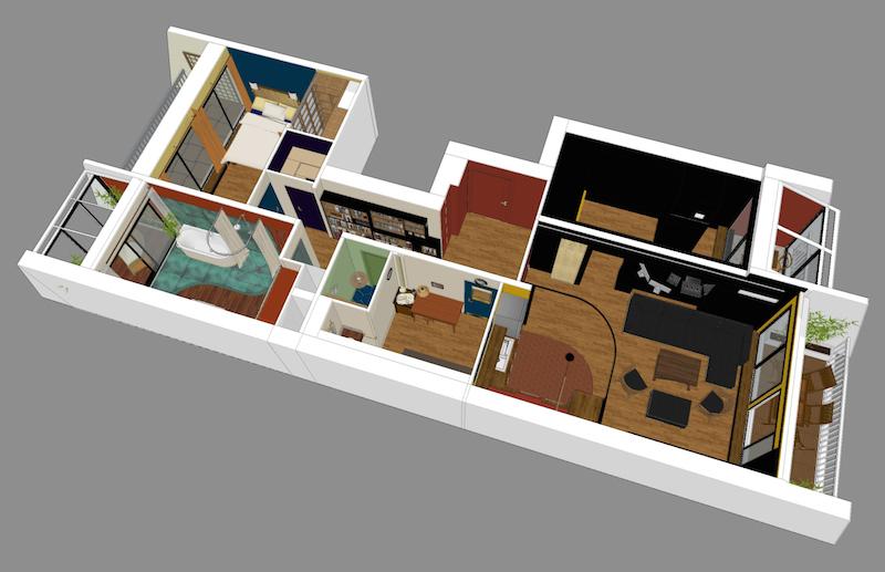 appartement2 - espaces au singulier