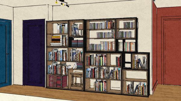 bibliotheque croquis - espaces au singulier