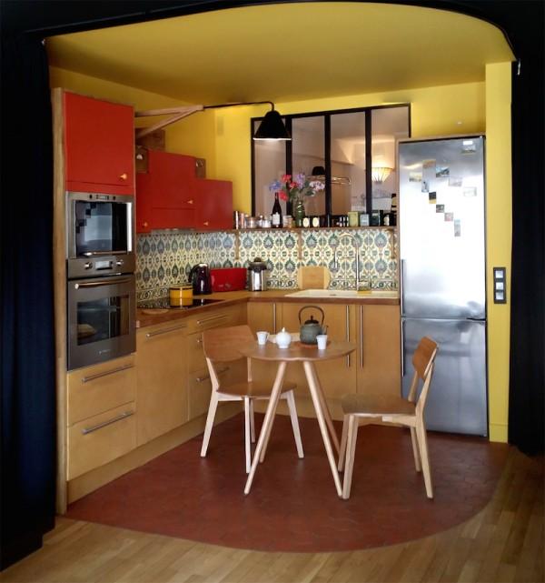 cuisine ouverte - Julie Deljehier - espaces au singulier