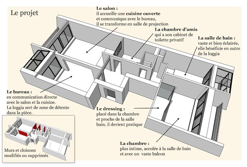 plan projet - Julie Deljehier - Espaces au singulier